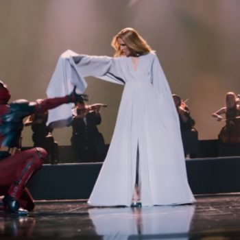 Celine Dion and Deadpool sensually dancing in this new music video is the gift we never knew we needed