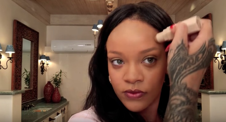 Rihanna personally teaches us how to contour in a new video, and you're gonna learn SO MUCH
