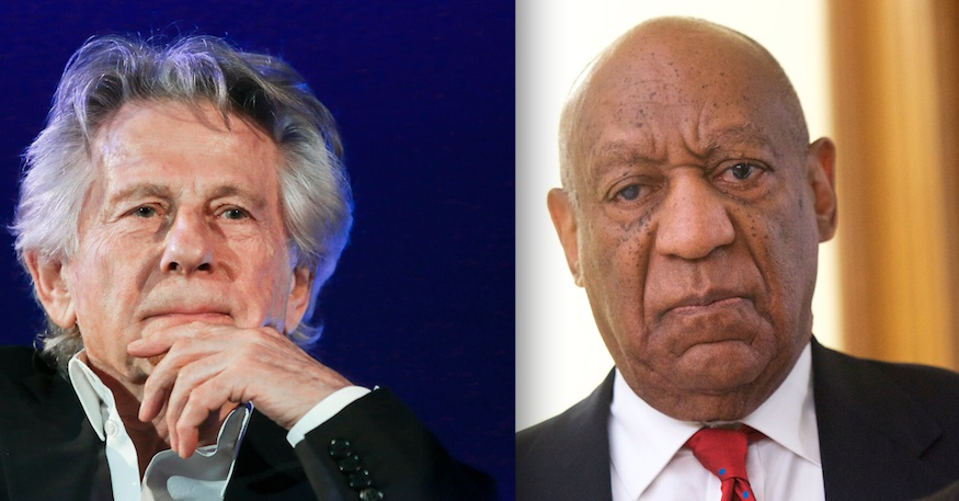 The Academy has *finally* expelled Roman Polanski and Bill Cosby, and it's about freaking time