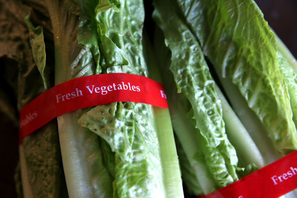 One person has reportedly died from the romaine lettuce E. Coli outbreak, and now we're freaked out