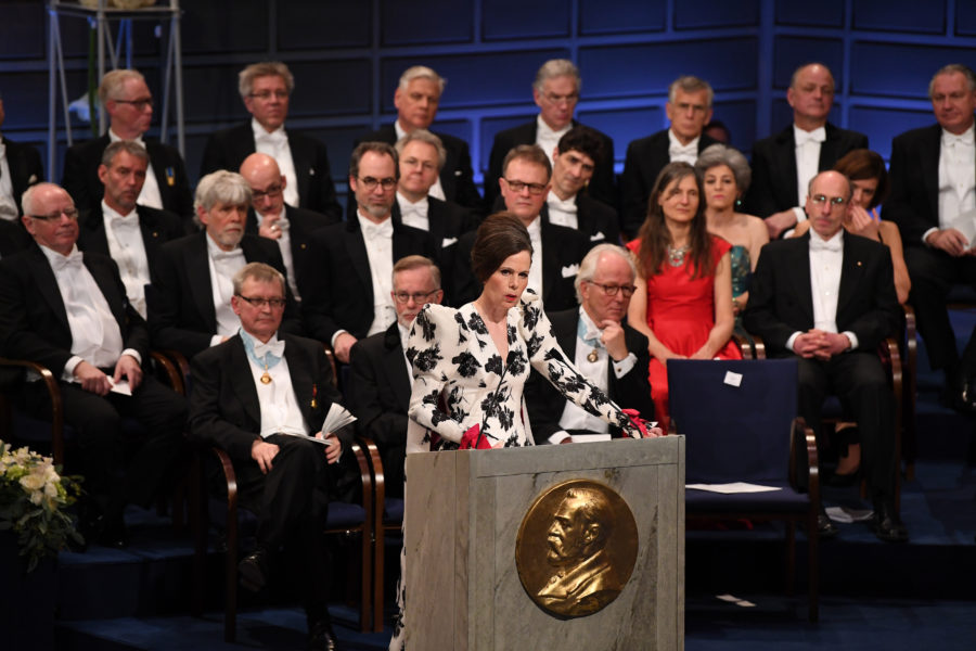 There won't be a Nobel Prize in literature this year because of a sexual abuse scandal