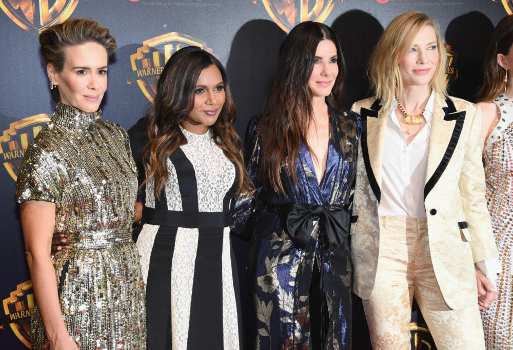 Here's the awkward lie Mindy Kaling gave her <em>Ocean's 8 </em>co-stars to hide her pregnancy