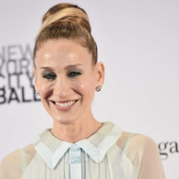 Sarah Jessica Parker made a rare red carpet appearance with her twin daughters, and their dresses are a literal manifestation of spring