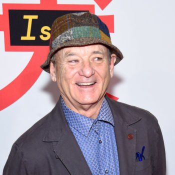 Bill Murray helped a couple make their gender reveal announcement in the most Bill Murray way possible