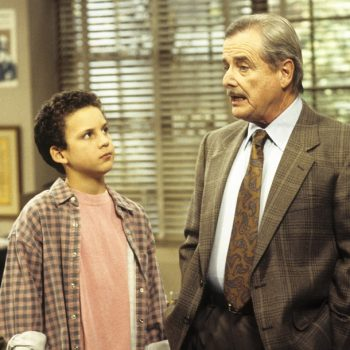 "Mr. Feeny from <em>Boy Meets World</em> sent a message to ""unsung heroes"" on Teacher Appreciation Day"