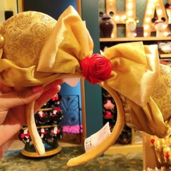 Disney is selling <em>Beauty and the Beast</em> Minnie Mouse ears, and they're fit for a princess