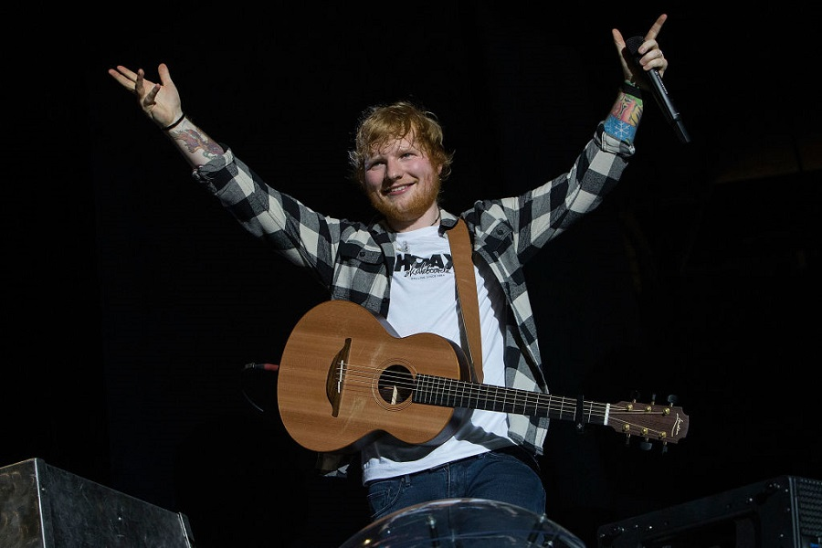Ed Sheeran just celebrated a major one-year milestone, and go, Ed!
