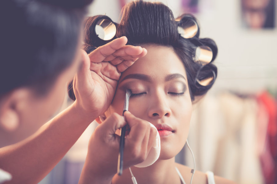 How many pre-wedding hair and makeup trials should you really have?