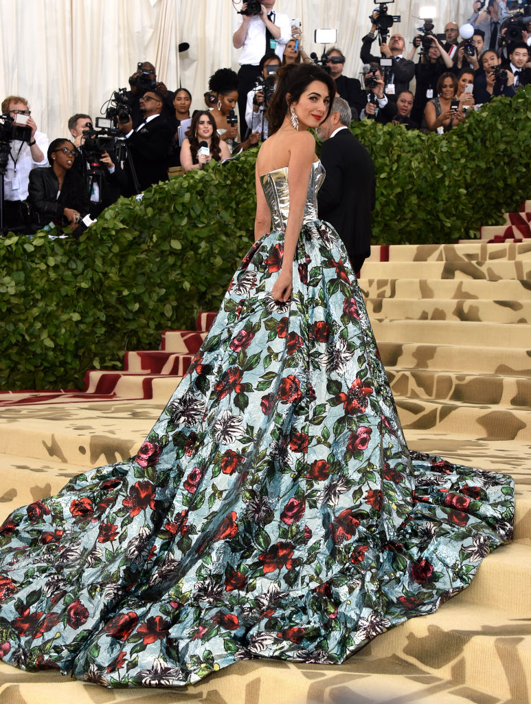 Amal Clooney's 2018 Met Gala Look Is Polarizing, But Glam