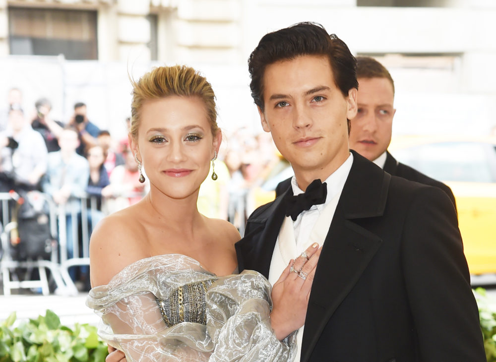 Lili Reinhart and Cole Sprouse made their red carpet debut at the 2018 Met Gala looking like an IRL Disney couple