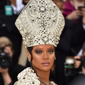 Rihanna came dressed as the pope to the 2018 Met Gala, and we're converting to Fentyism ASAP