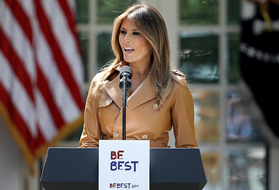 """Twitter is having a field day with Melania Trump's """"Be Best"""" campaign"""