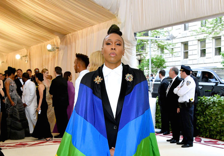 Lena Waithe wore the pride flag at the 2018 Met Gala, which makes a true fashion statement