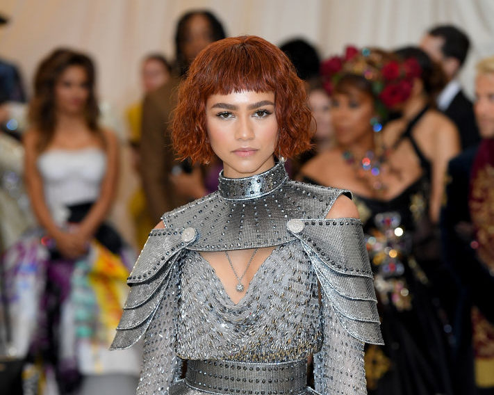 Zendaya is Joan of Arc at the 2018 Met Gala in full-on fashion armor