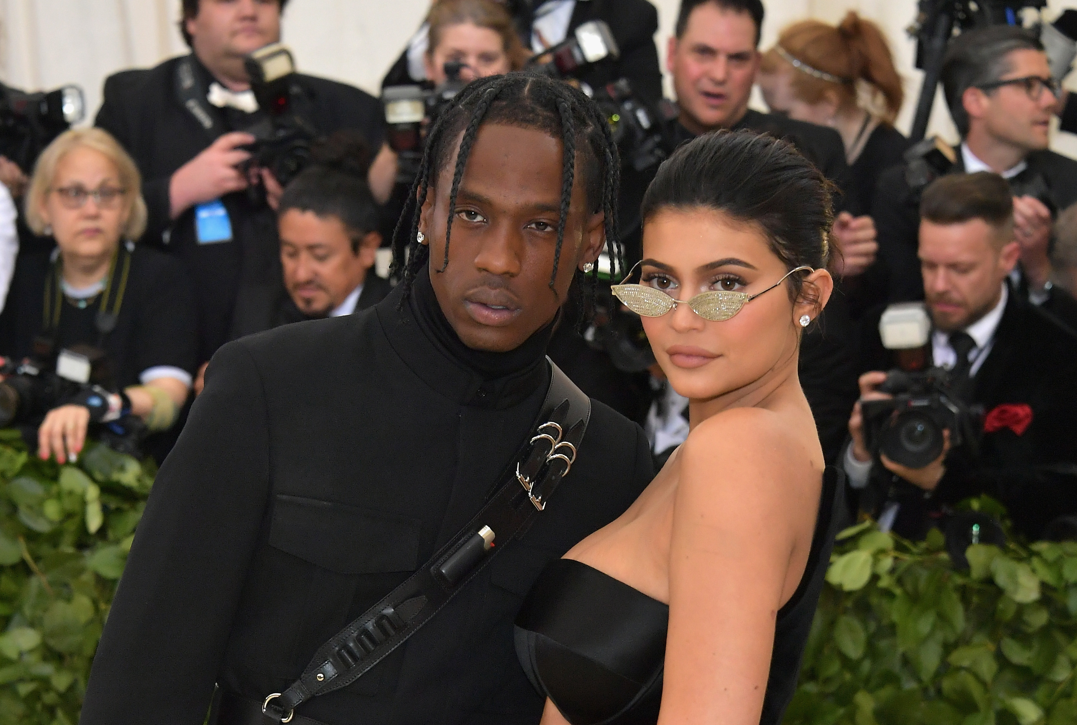 Kylie Jenner and Travis Scott showed us some hella cute PDA on the 2018 Met Gala red carpet