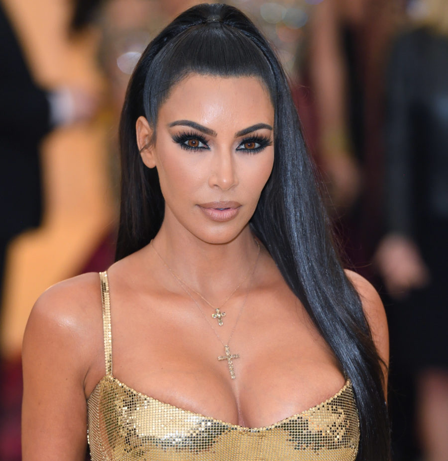 So, Kim Kardashian's press-on Met Gala nails were flown in from L.A. on Katy Perry's private jet