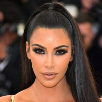 Kim Kardashian just dyed her hair the perfect shade of comic book character blue