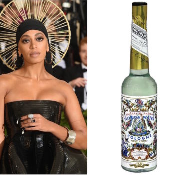 Everything you need to know about Florida water, Solange's witchy Met Gala accessory