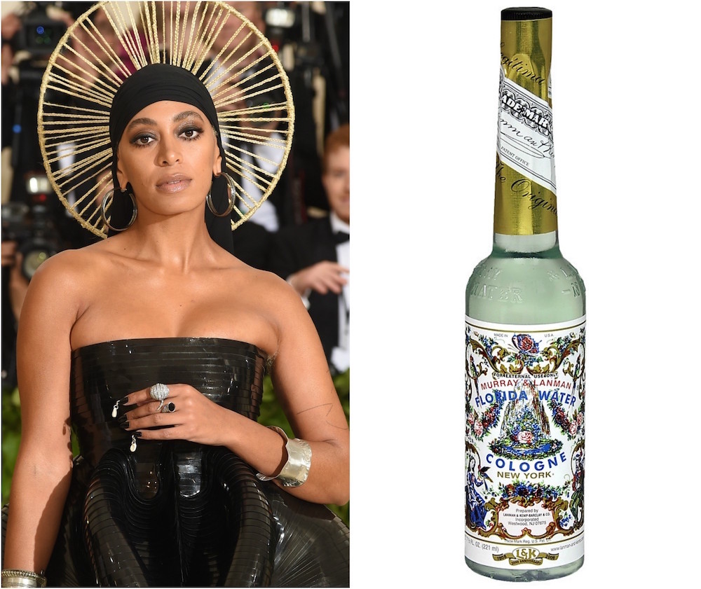 Solange Carried Florida Water At the 2018 Met Gala