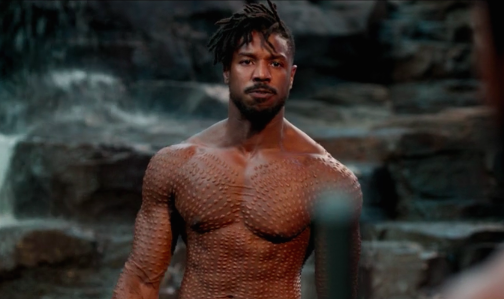 <em>Black Panther</em> costume designer Ruth E. Carter talks Michael B. Jordan's, ahem, lack of costume as the shirtless Killmonger