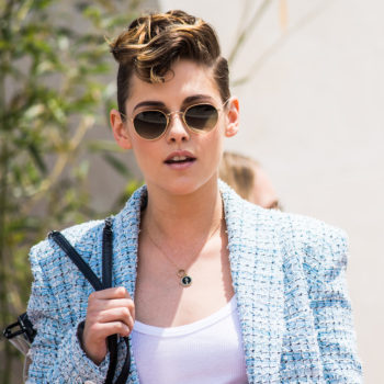 Kristen Stewart wore an itty-bitty rat-tail at Cannes, and only she could make this a trend