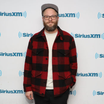 "Seth Rogen's mom tweeted about seeing a woman's ""hoo hoo"" in yoga, and her son had the most LOL response"