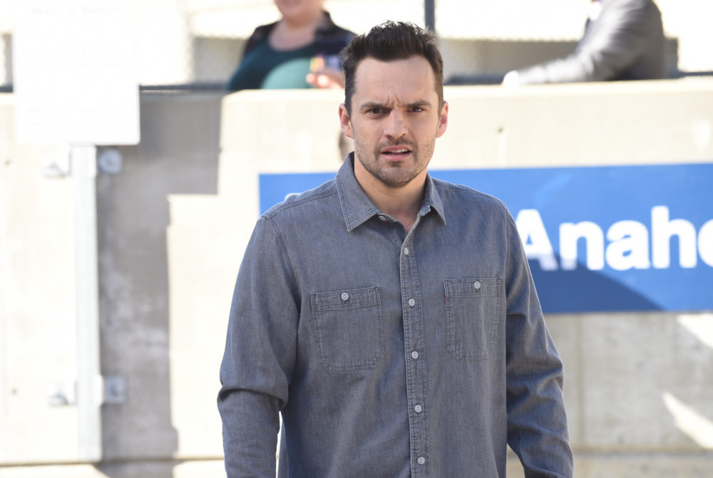 In true Nick Miller fashion, Jake Johnson stole all his pants from <em>New Girl</em>