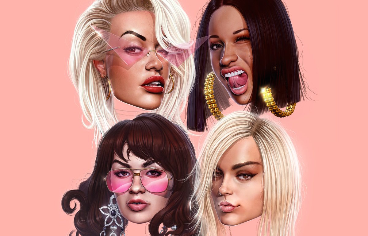 "Cardi B, Rita Ora, Bebe Rexha, and Charli XCX are dropping a single together, and this is already our new ""Lady Marmalade"""