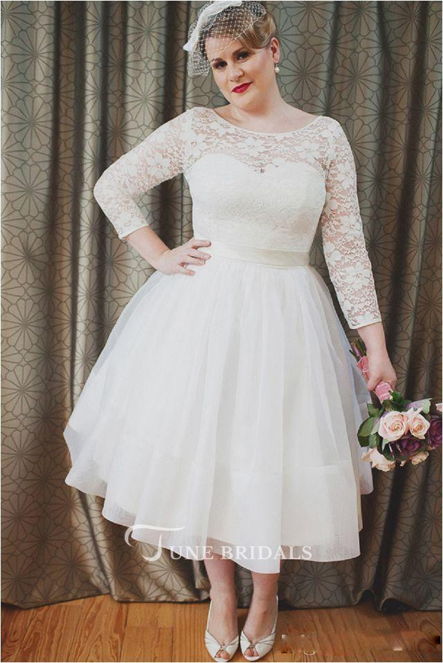 14 Affordable Plus Size Wedding Dresses That Cost Under 400