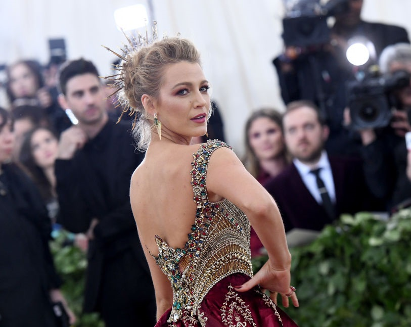 Blake Lively's 2018 Met Gala look contained a secret message to husband Ryan Reynolds