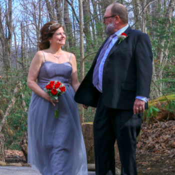 Tom and Abby from <em>Queer Eye</em> are married, and their private wedding photos will fill you with the purest joy
