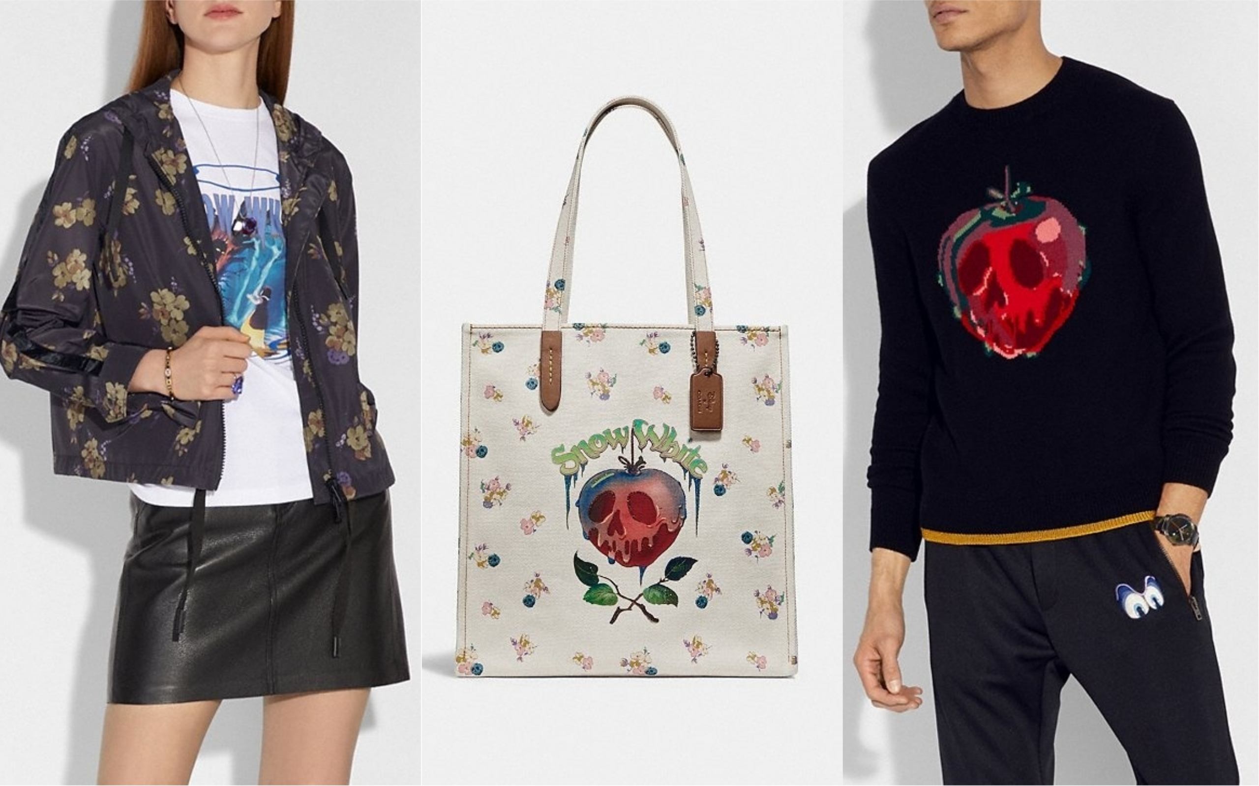 This is a dream your dark heart makes, because Coach is releasing a *gothic* Disney collection
