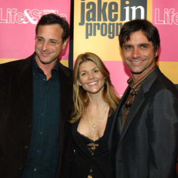 Aunt Becky and Danny Tanner just met John Stamos's new baby, and yes, there are pics