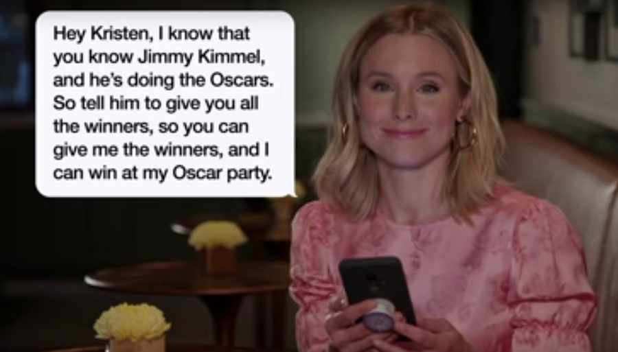 Kristen Bell, Anna Faris, and so many other celebs read the most insane texts from their moms on <em>Jimmy Kimmel</em>