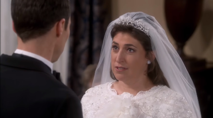 A major scene was apparently cut from Amy and Sheldon's wedding on <em>The Big Bang Theory</em>