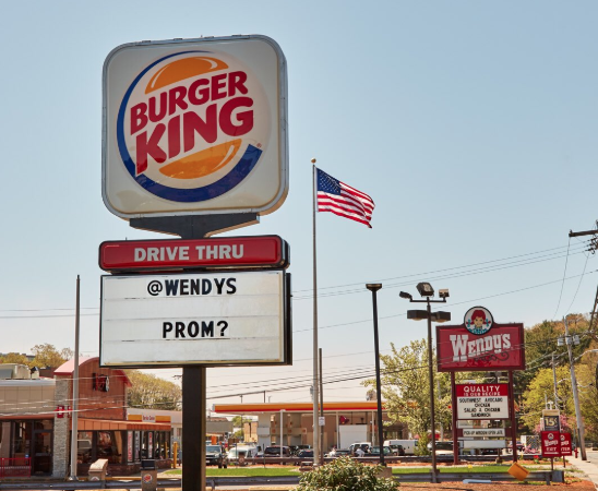 Burger King asked Wendy's to prom, and Wendy's had the best, most sassy response