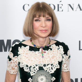 Anna Wintour defended Scarlett Johansson's decision to wear Marchesa at the Met Gala