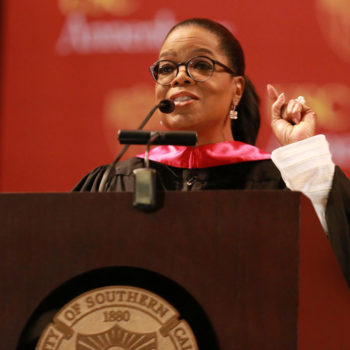 Oprah Winfrey's USC commencement speech is an inspiring reminder that we have the power to fight fake news