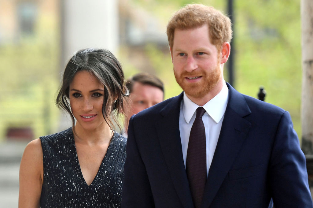 Meghan Markle and Prince Harry stepped out for their wedding rehearsal, and this might be our last look at the royal bride and groom before the big day