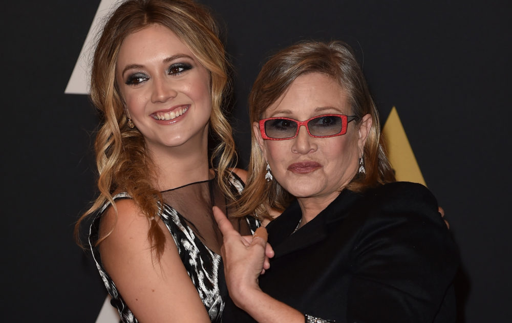 Billie Lourd's tribute to Carrie Fisher was perfect for anyone missing their mom on Mother's Day
