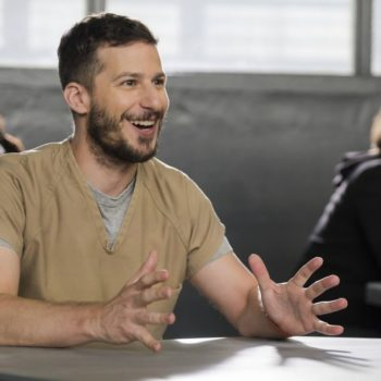Fox defended canceling <em>Brooklyn Nine-Nine</em>, and they basically broke up with Andy Samberg for Tim Allen