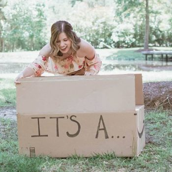 This woman's gender reveal photo shoot is not what you expect