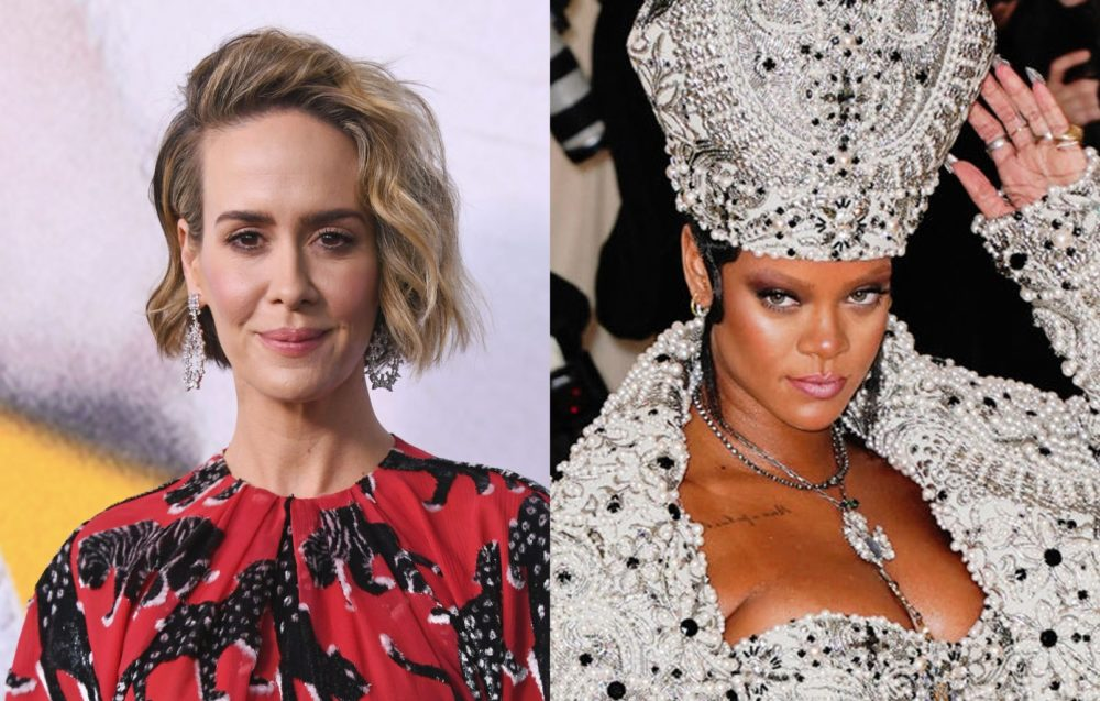 Sarah Paulson wrote lyrics for Rihanna (and sang them to her in person), so let's make this duet happen