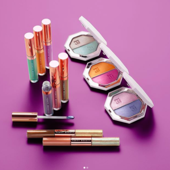 The Fenty Beach Please! collection will convince you that shimmery pastels are the new neutral