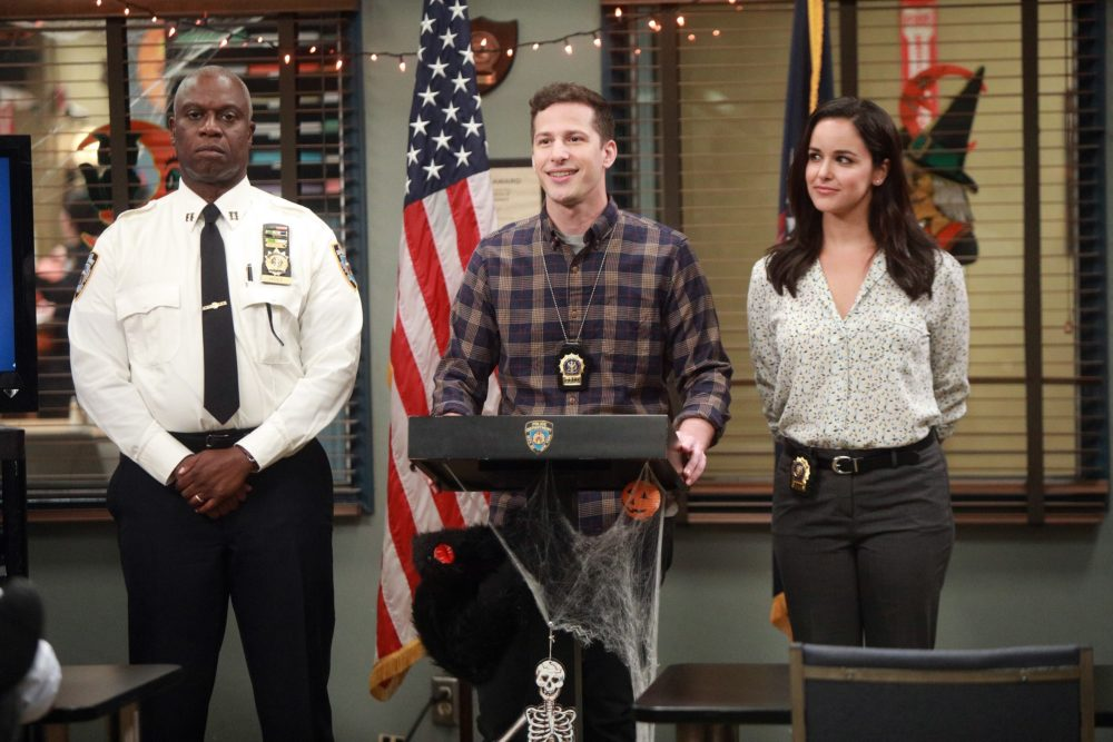 Andy Samberg is so excited <em>Brooklyn Nine-Nine</em> has found a new home — and he's already apologizing to NBC