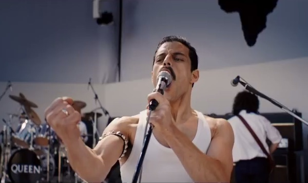 Rami Malek's Freddie Mercury is a god amongst men in the first trailer for <em>Bohemian Rhapsody</em>