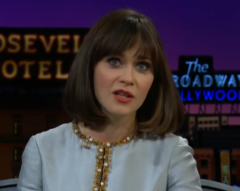 Zooey Deschanel accidentally joined a beauty pageant once, as one does
