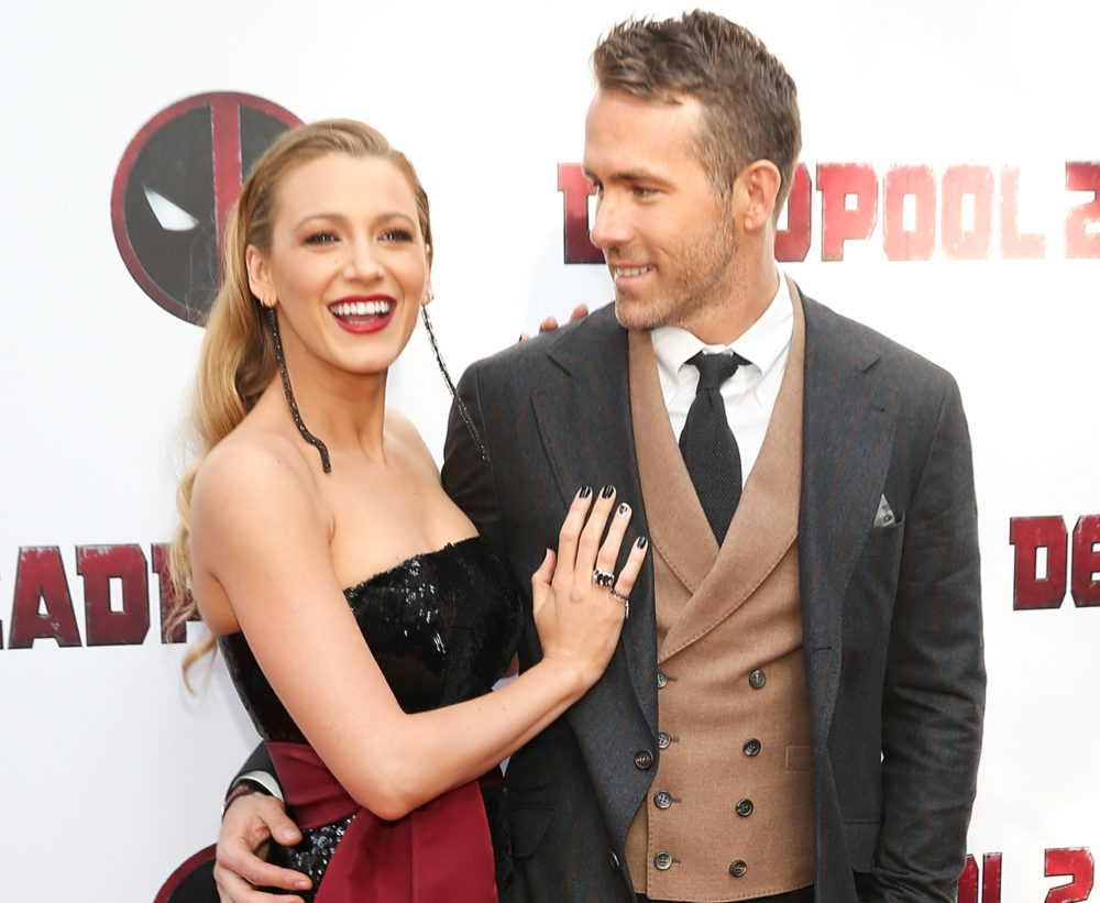 Blake Lively got a <em>Deadpool</em> manicure, and it is the most extra display of love — in the best way