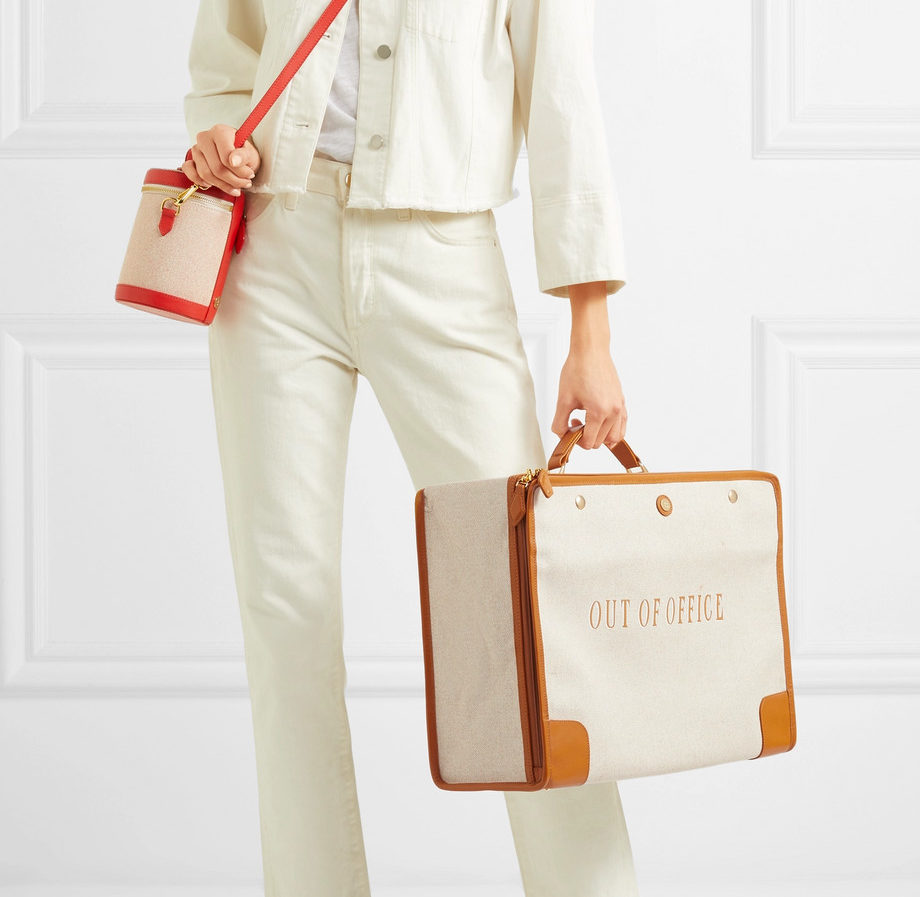 Net-A-Porter's latest luggage collaboration is straight from your summer travel dreams
