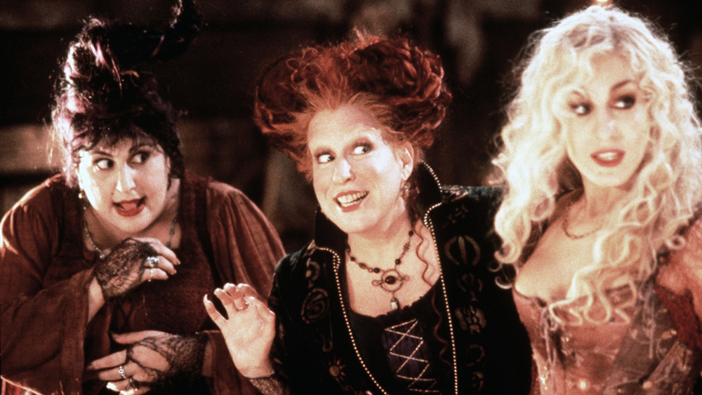 Freeform is throwing a <em>Hocus Pocus</em> extravaganza for Halloween this year — and turning it into a month-long celebration
